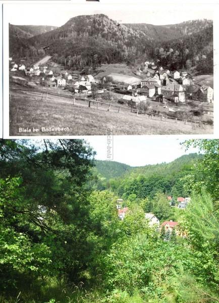 kostel a okolí okolo r.1940