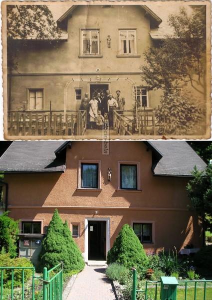 náš dům okolo roku 1940